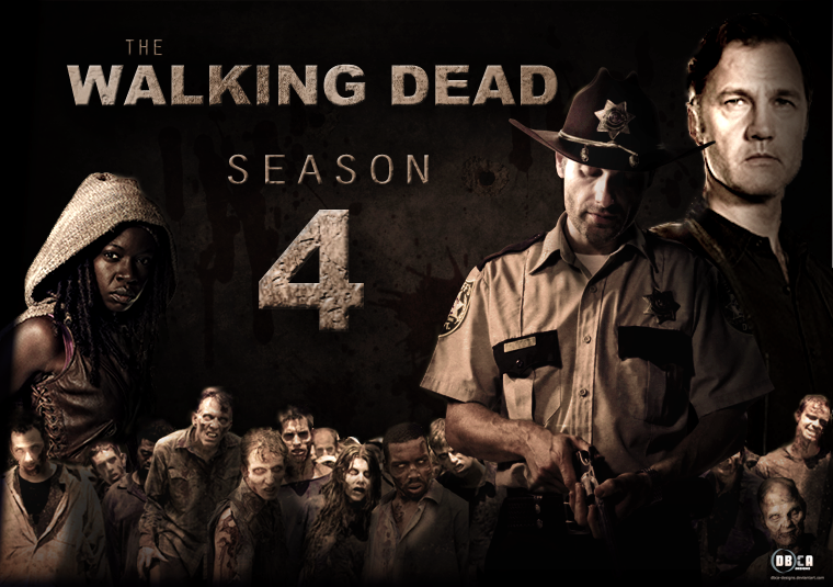 Morbidly Amusing : \'The Walking Dead\': Season 4 (2013-14) Review